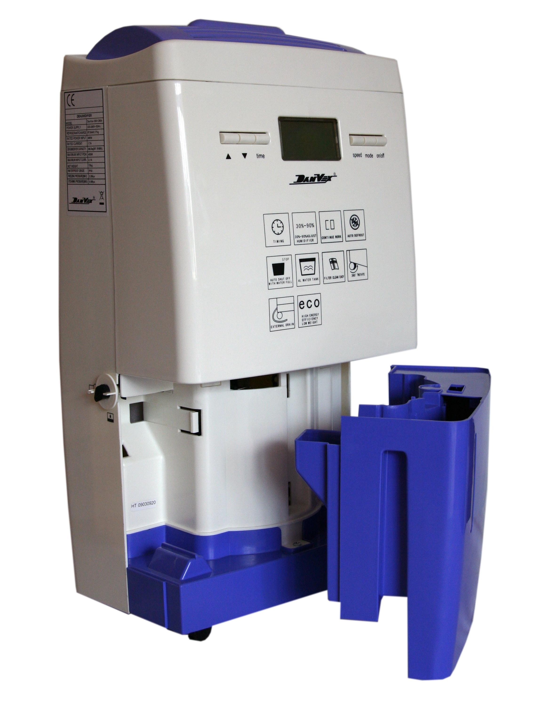 Осушитель воздуха DanVex DEH-290h